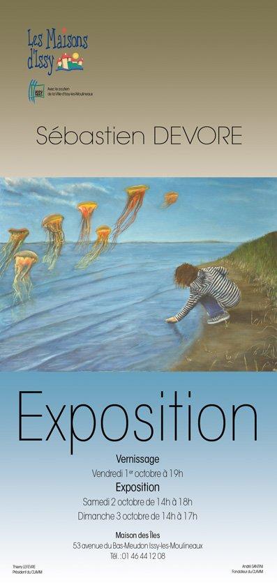 Exposition La Maison des Iles d`Issy les Moulineaux octobre 2010