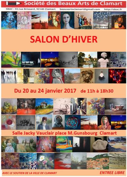 Salon d`hiver - exposition 2017